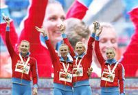 Le baiser des coureuses russes n'était pas pro-gay