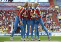 Le baiser engagé de deux coureuses sur le podium