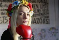 Les Femen perturbent le défilé de l'extrême droite