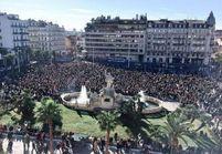 Marche républicaine : les rues des villes de France noires de monde