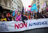 Mariage gay : nouvelle manifestation des opposants