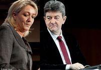 Marine Le Pen ne veut pas débattre avec Mélenchon