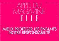 « Mieux protéger les enfants, notre responsabilité » : l'appel du magazine ELLE