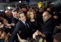 Municipales : le stand-up de NKM devant Sarkozy