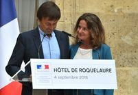 Nicolas Hulot, en larmes : sa femme lui murmure « Je t'aime » - Vidéo