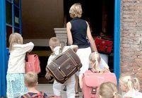Rythmes scolaires: une réflexion approfondie dès la fin août