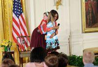 Son père est au chômage, elle donne son CV à Michelle Obama