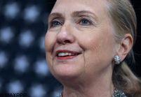 USA: Hillary Clinton salue la nomination de John Kerry