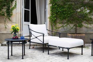 Fer forgé : la touche rétro de votre mobilier de jardin