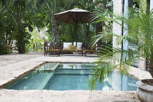 Les mini jardins vont adorer ces petites piscines