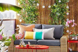 Ces 10 accessoires IKEA vont transformer votre petite terrasse