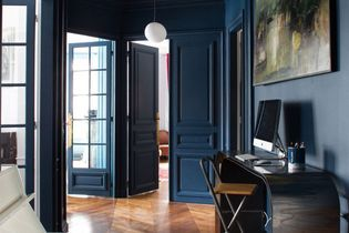 Déco : bleu marine is the new black !