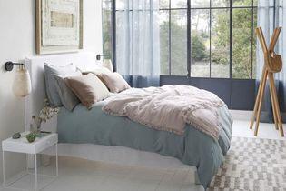 Linge de lit en lin : on ne s'en lassera jamais
