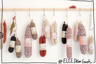 #ELLEDécoCrush : saucisson et tricot, un duo déco qui va cartonner en cuisine !