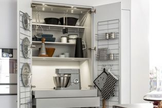 Cuisine Elle Décoration - Meubles pin cevins pour idees de deco de cuisine