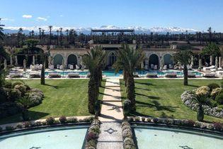 Le Palais Ronsard à Marrakech, le nouvel hôtel de luxe de la Palmeraie