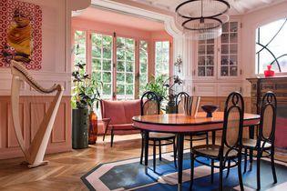 L'intérieur graphique et coloré d'Aurélia Paoli
