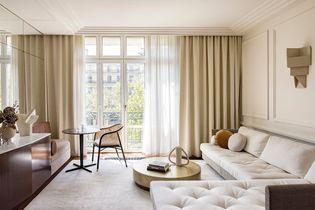 Petite surface: un deux pièces de 47 m2 restauré comme un palace Art Déco