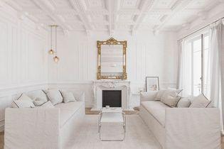 Un appartement familial aux 50 nuances de blanc