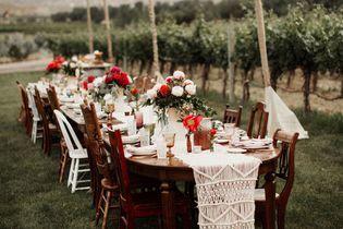 Table de mariage : 35 idées déco dignes de ce grand jour !