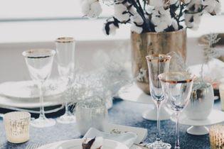 Les plus jolies tables de fête pour un réveillon réussi