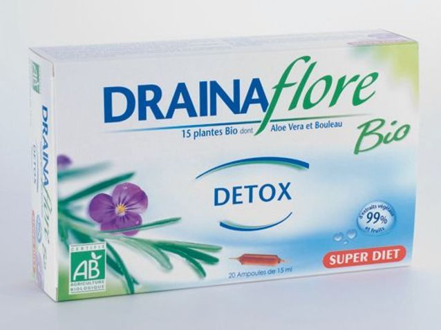 BioSuper Diet Compléments Détox Drainaflore Elle c4RL5q3jAS