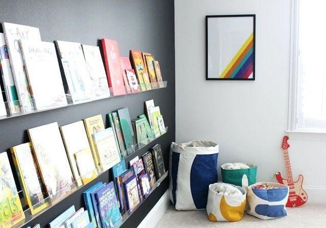 Rangement livres enfants : nos idées pour ranger des livres pour ...