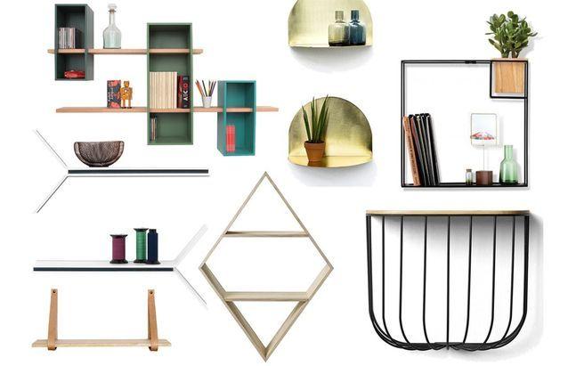 Étagères Elle Design Murs Les Décoration Réveillent Nos k8nwOP0