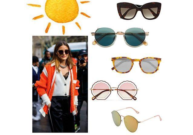 ced9137424 Lunettes de soleil femme été 2019 : 40 paires de lunettes de soleil pour  femme tendance pour l'été 2019 - Elle