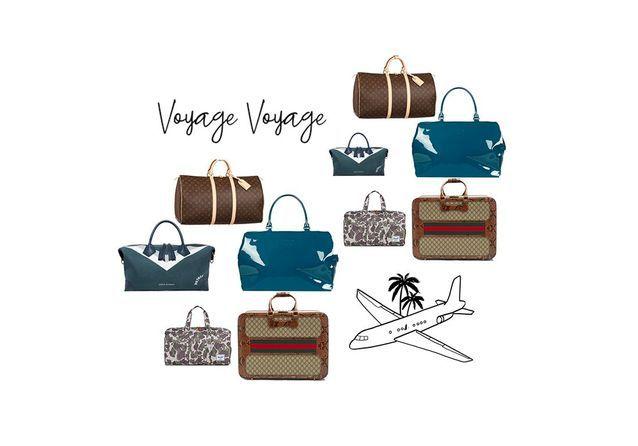 De Voyage A Le Sac Chic Nous x6nHzp