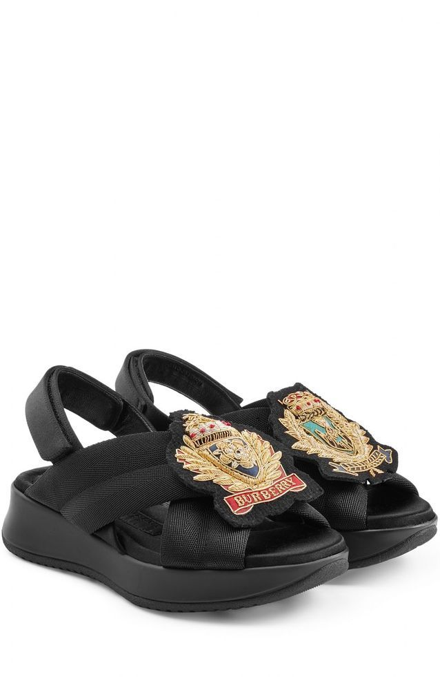 Sandales Des Luxe Prorsum Grosses Nos Burberry À lT1KJFc