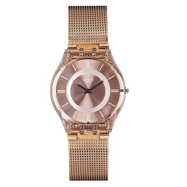 Milanaise Montre Swatch 16 Bracelet Maille Montres À En 1JKclF