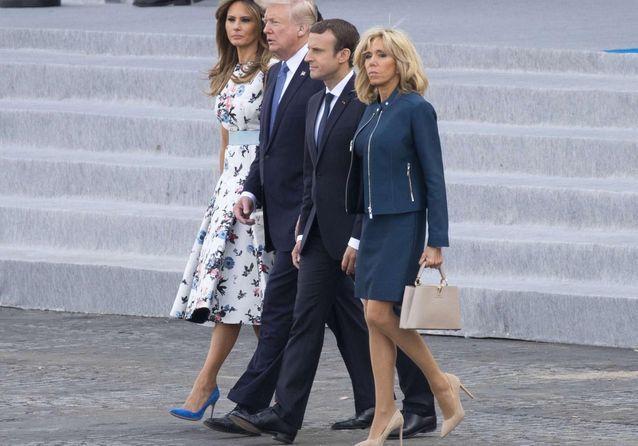 Et Duo Chic 14 Pour Brigitte Melania Macron Juillet Elle TrumpUn Le J3TKlF1c