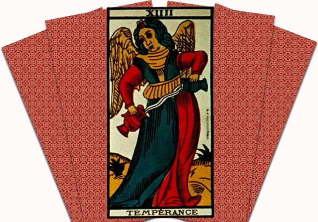 Arcane N°14 Tempérance