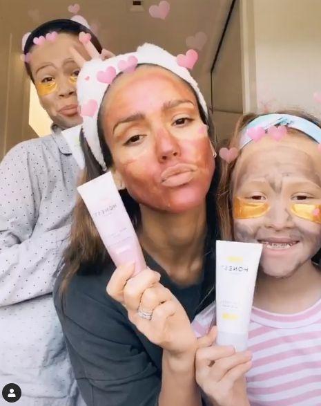 La routine skincare de Jessica Alba