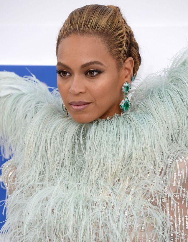 Le chignon tressé de Beyoncé