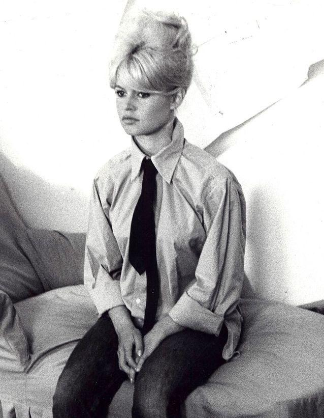 Le chignon chic de Brigitte Bardot