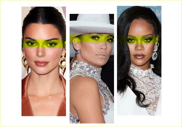 Kendall Jenner, Jennifer Lopez, Rihanna… ces stars qui ont des cils hors du commun