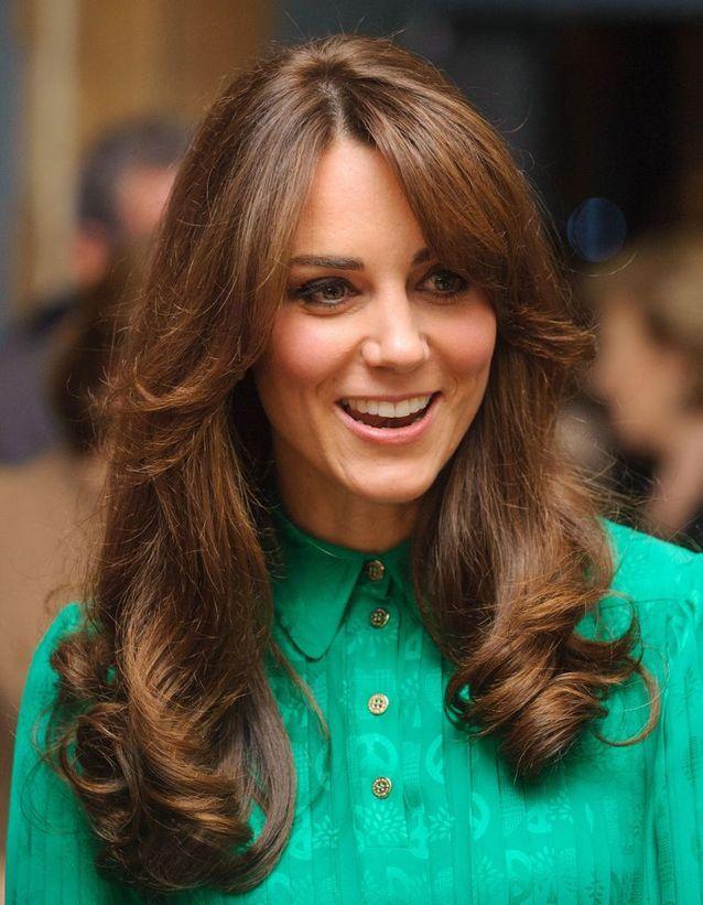 Brushing Kate Middleton