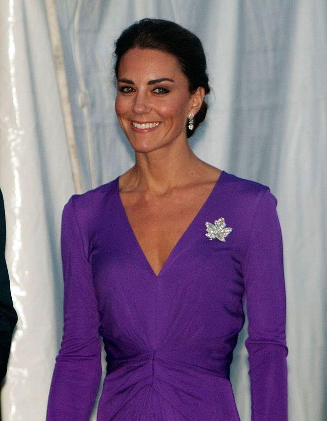 Chignon bas Kate Middleton