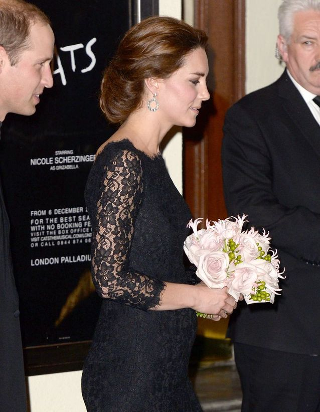 Chignon élégant Kate Middleton
