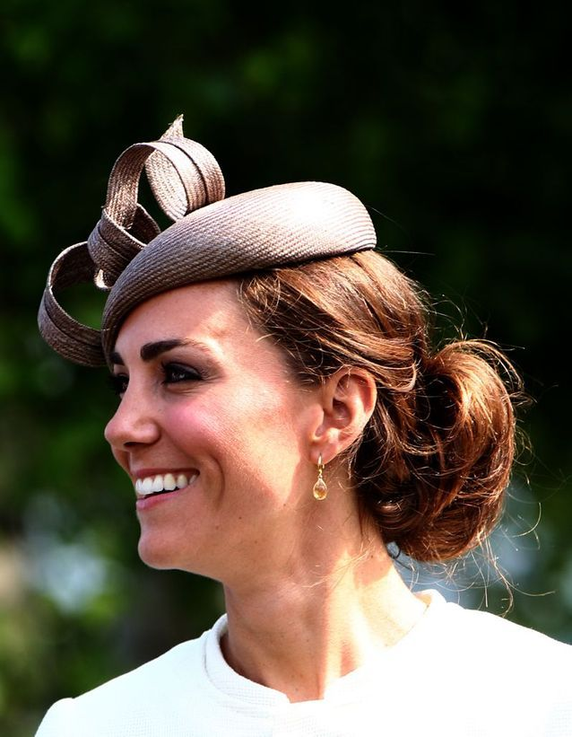 Chignon Kate Middleton