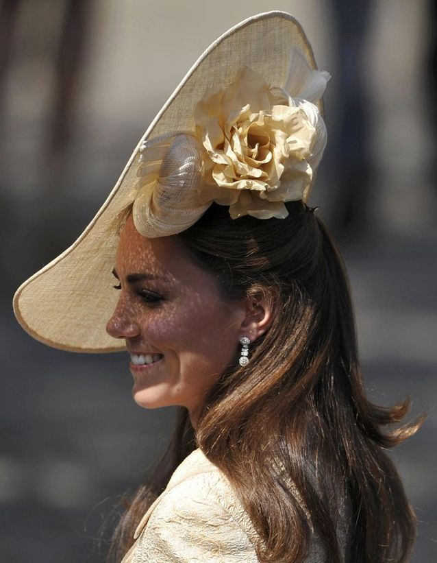 Coiffure chic Kate Middleton