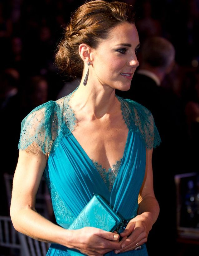 Coiffure Kate Middleton chignon
