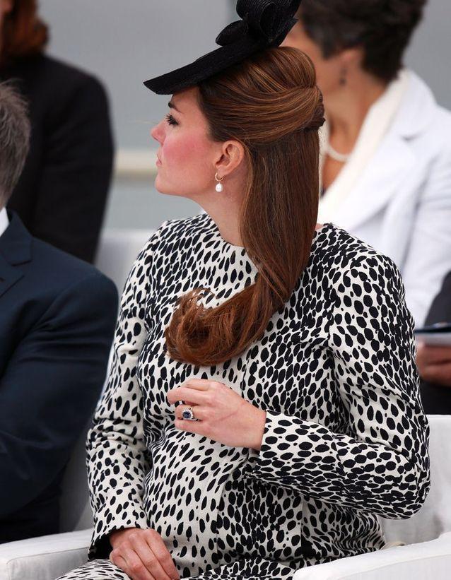 Coiffure Kate Middleton enceinte