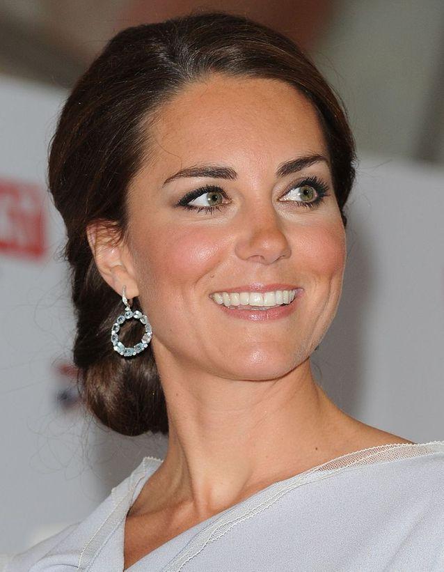 Coiffure Kate Middleton événement