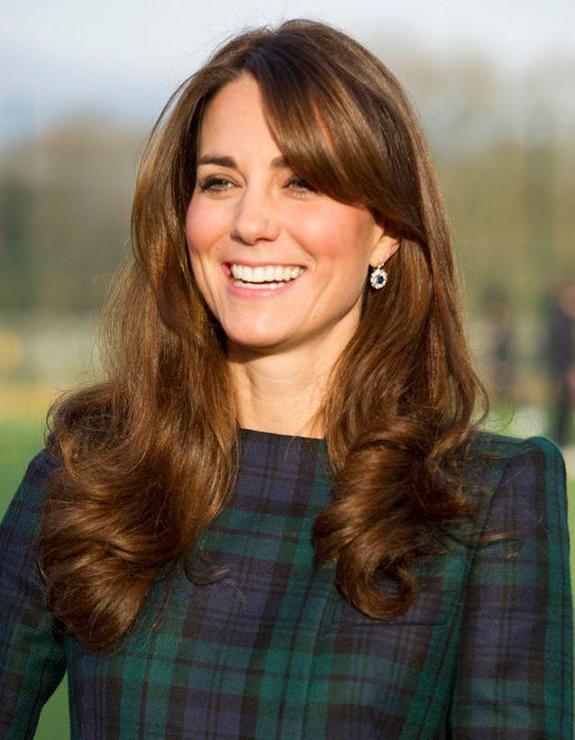 Coiffure Kate Middleton frange