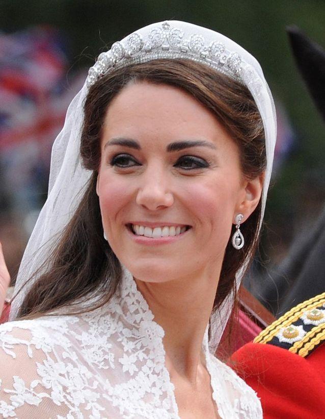 Coiffure Kate Middleton mariage