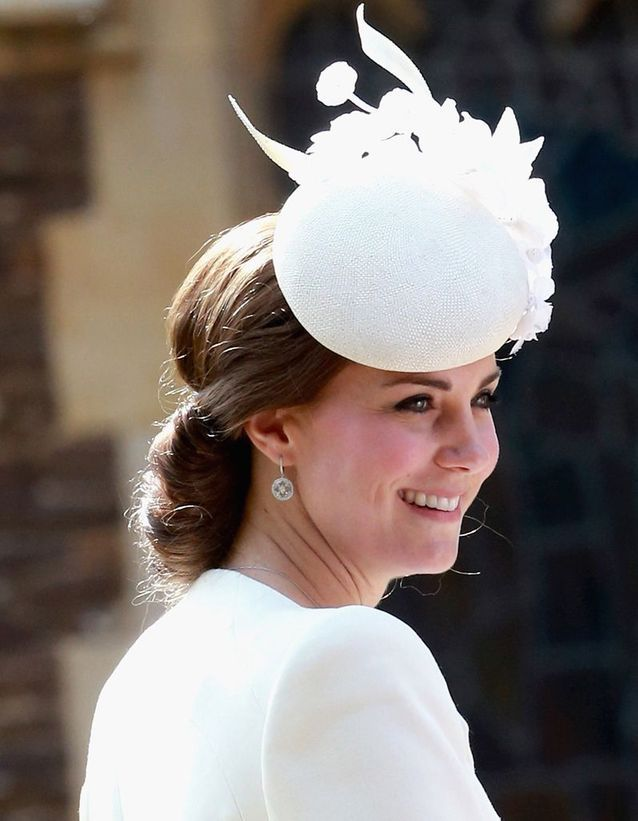 Coiffure Kate Middleton très chic