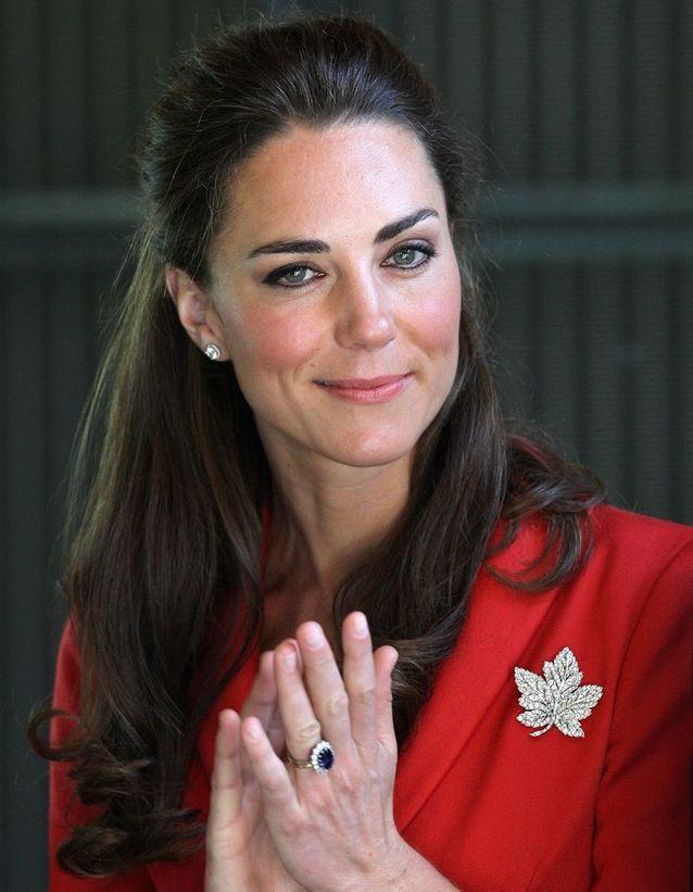 Demie-queue Kate Middleton